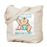 Tum Bum Blue Tote Bag