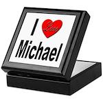 I Love Michael Keepsake Box