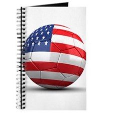 USA Soccer Ball Journal