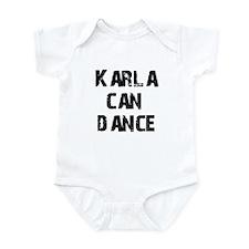 Karla Can Dance Infant Bodysuit