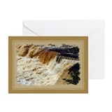 ...Aysgarth Middle Falls... Greeting Cards (x 20)