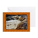 ...Aysgarth Lower Falls... Greeting Cards (x 20)