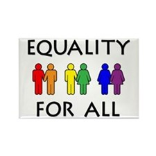 Equality Rectangle Magnet (10 pack)