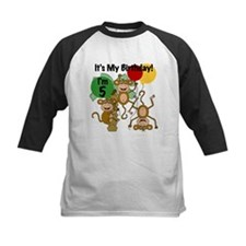 Monkey 5th Birthday Tee