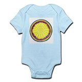 Solar Plexus Chakra Flower Ma Infant Bodysuit