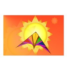 Summer Time Kite Postcards (Package of 8)