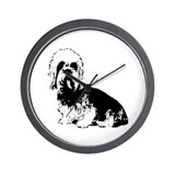 Dandie Dinmont Terrier Wall Clock