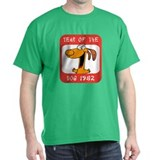 Year of The Dog 1982 Black T-Shirt