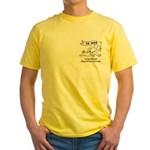 Volunteer Dog Park Yellow T-Shirt