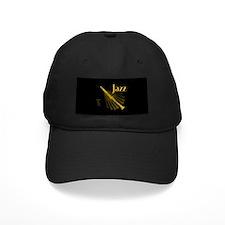 Jazz Clarinet Gold Baseball Hat