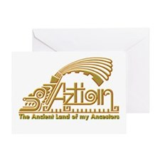 Aztlan Soul Greeting Card