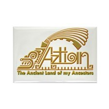 Aztlan Soul Rectangle Magnet (100 pack)