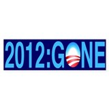 2012: Gone - Bumper Sticker (10 pk)