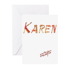 Karen! Design #805 Greeting Cards (Pk of 10)