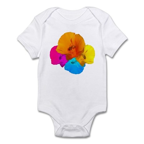 Honeybee Poppy Art Infant Bodysuit
