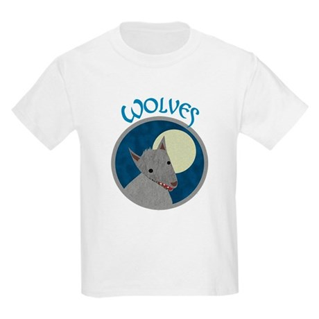Wolves Kids Light T-Shirt