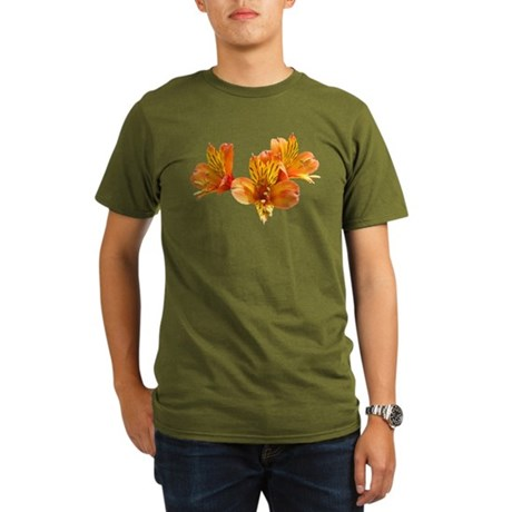 Three Lilies Organic Men's T-Shirt (dark)