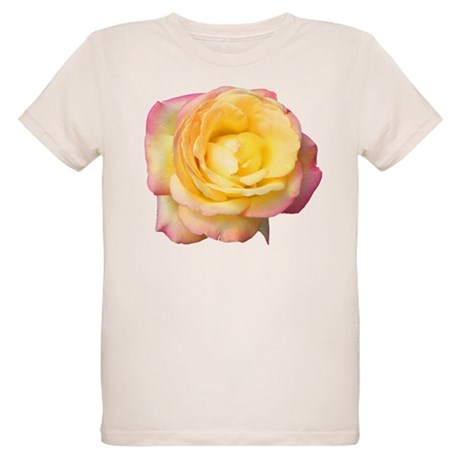 Peace Rose Organic Kids T-Shirt