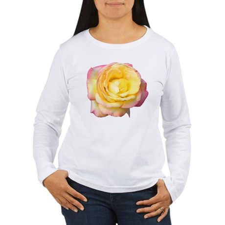 Peace Rose Women's Long Sleeve T-Shirt