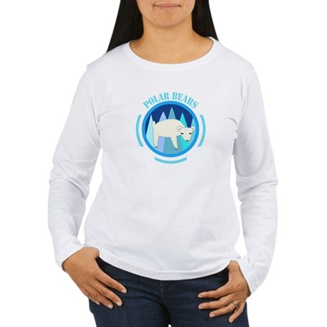 Polar Bears Women's Long Sleeve T-Shirt
