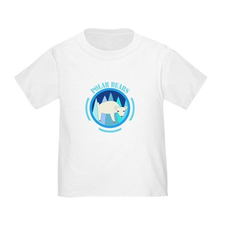 Polar Bears Toddler T-Shirt
