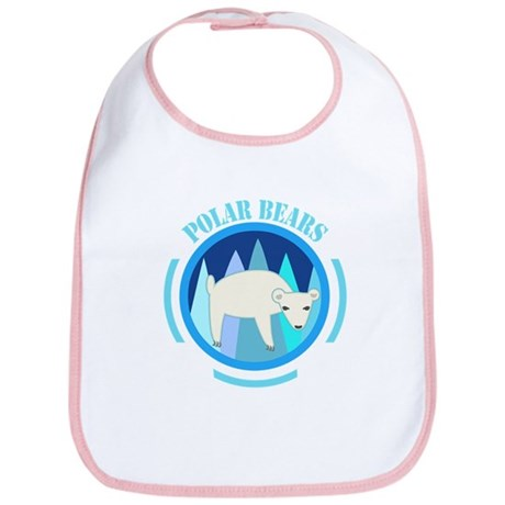 Polar Bears Bib