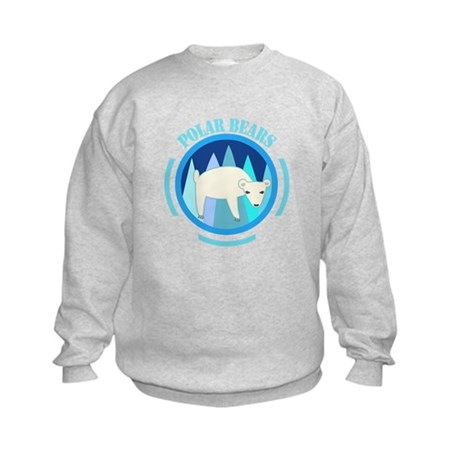 Polar Bears Kids Sweatshirt