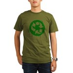 Recycle Organic Men's T-Shirt (dark)