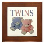 TWINS Framed Tile