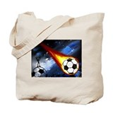 Cute Soccer Tote Bag