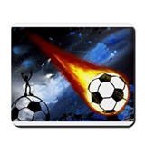 Cute Soccer ball Mousepad