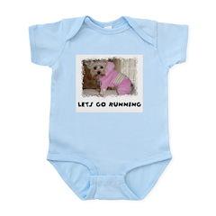 SWEET YORKIE TERRIER Infant Creeper