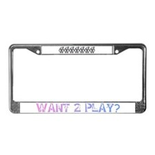 SWINGERS SYMBOL FMF GRAY License Plate Frame