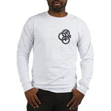 MFM SWINGERS SYMBOL GRAY Long Sleeve T-Shirt