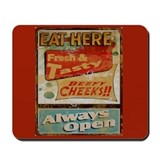 Eat Here Mousepad