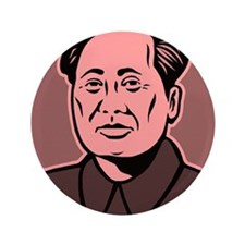 "Chairman Mao 3.5"" Button (100 pack)"