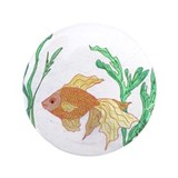 "Goldfish 3.5"" Button"