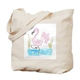 Pink Flamingo 13 Tote Bag
