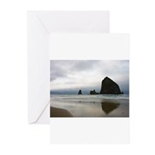 Rocks on Cannon Beach Greeting Cards (Pk of 10)