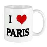 I Love PARIS Tasse