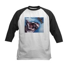 Boston Terrier and Dragonfly Tee