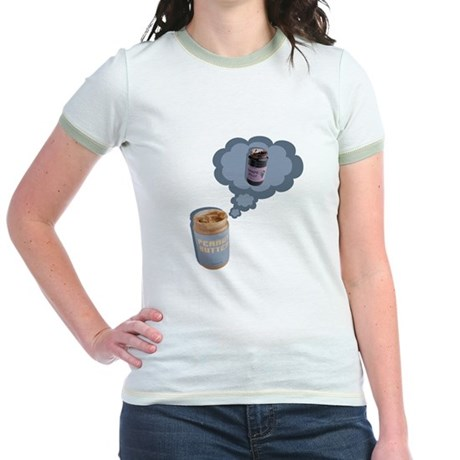 Peanut Butter Jr. Ringer T-Shirt