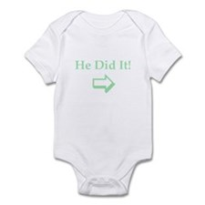 Twins: He Did It RIGHT Infant Bodysuit