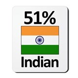51% Indian Mousepad