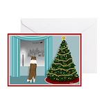 Sheltie Christmas Card (Pk of 10)