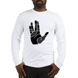 Hand Salute Long Sleeve T-Shirt
