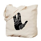 Hand Salute Tote Bag