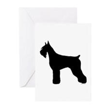 Silhouette #5 Greeting Cards (Pk of 10)