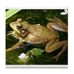 Green Frog Tile Coaster