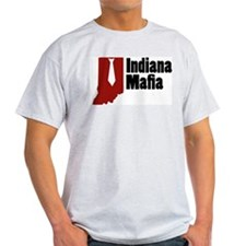 Indiana Mafia Ash Grey T-Shirt